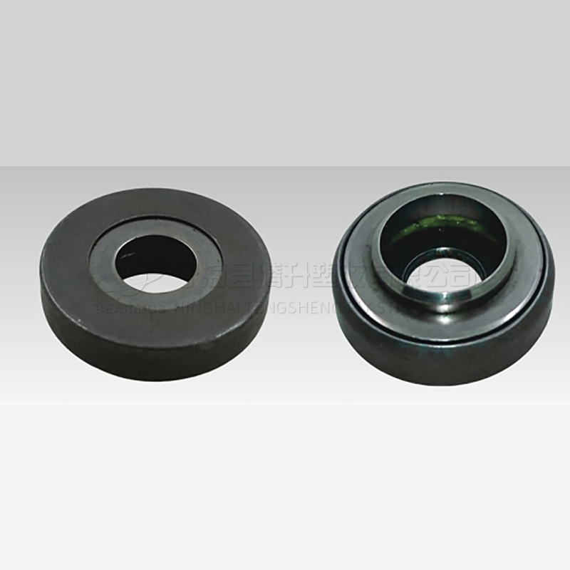 Damping plain bearing